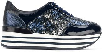 Baldinini platform lace-up sneakers