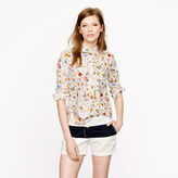 J.Crew Liberty popover in floral eve