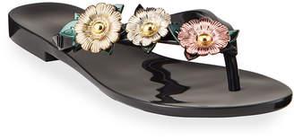 Melissa Shoes Harmonic Garden Chrome Sandals