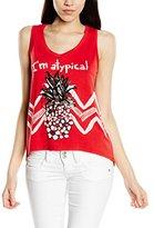 Desigual Women's Knitted T-Shirt Sleeveless 14