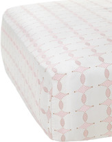 Serena & Lily Scroll Crib Sheet