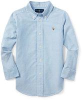Ralph Lauren 2-7 Solid Oxford Shirt