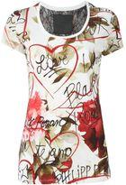 Philipp Plein 'Black and White' T-shirt