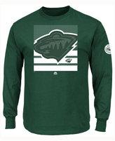 Majestic Men's Minnesota Wild Slashing Long Sleeve T-shirt