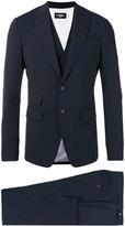 DSQUARED2 London three-piece suit - men - Polyester/Spandex/Elastane/Virgin Wool - 44