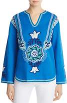 Tory Burch Emilia Embroidered Tunic
