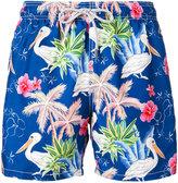 MC2 Saint Barth floral print swim shorts - men - Polyamide/Polyester/Spandex/Elastane - S