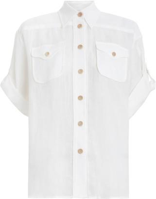 Zimmermann Super Eight Safari Shirt