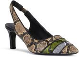 Geox Bibbiana Multicolored Python-Pint Sandals