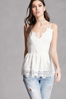 Forever 21 FOREVER 21+ RD & Koko Lace V-Neck Top
