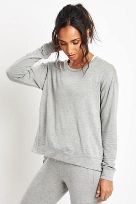 ALALA Heather Grey Heron Sweatshirt - S - Grey