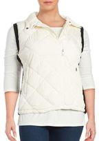 Marc New York Performance Diamond-Quilted Zip-Front Vest