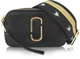 Marc Jacobs Snapshot Black Leather Camera Bag w/Shoulder Strap