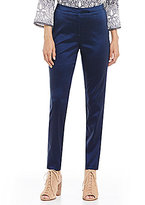 Sigrid Olsen Signature Stretch Silk Cigarette Pants