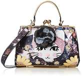 Irregular Choice Womens Purfect Pose Top-Handle Bag