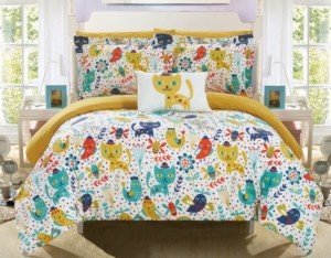 Chic Home Flopsy 6 Piece Twin Bed In a Bag Comforter Set Bedding
