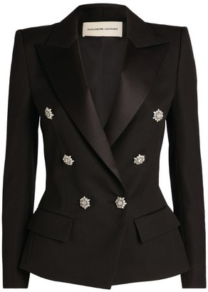 Alexandre Vauthier Jewel-Button Blazer