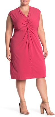 Maggy London French Twist Sheath Dress (Plus Size)