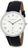 Frederique Constant Slimline Chronographic Leather Watch