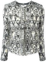 IRO geometric embroidery jacket