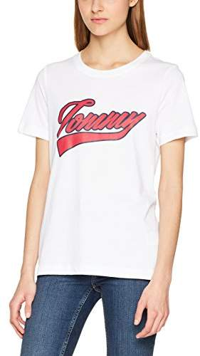 8ef5788a1 Tommy Hilfiger White T Shirts For Women on Sale - ShopStyle UK