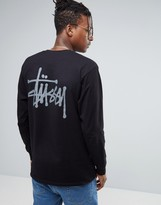 Stussy Long Sleeve T-shirt With Back Print