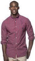 Chaps Men's Easy-Care Plaid Button-Down Shirt