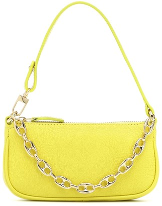BY FAR Exclusive to Mytheresa Rachel Mini leather shoulder bag