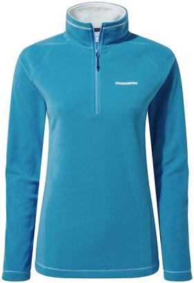 Craghoppers Miska Half Zip Fleece Top - Blue