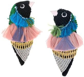 Mignonne Gavigan Finch Bird earrings