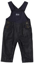 BOSS Navy Jersey and Denim Dungarees
