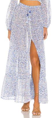 Poupette St Barth Triny Panelled Maxi Skirt