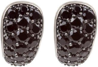 Konstantino Black Spinel J-Hoop Earrings