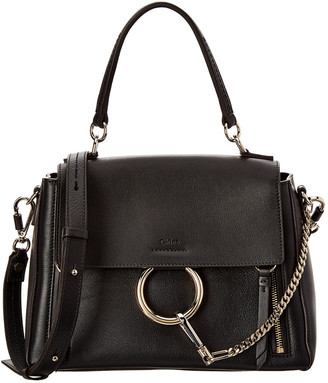 Chloé Faye Day Small Suede & Leather Satchel