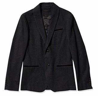 John Varvatos Men's Sean Shawl Collar Knit Soft Jacket