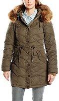 DreiMaster Women's Long Sleeve Coat - Green