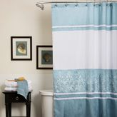 Bed Bath & Beyond Charlotte Shower Curtain in Blue