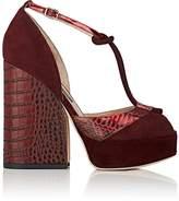 Zac Posen Women's Lena T-Strap Platform Sandals