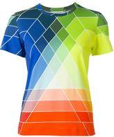 Mary Katrantzou graphic rainbow print T-shirt