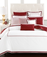 Hotel Collection Embroidered Frame Full/Queen Comforter