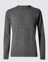 Marks and Spencer Extra Fine Pure Lambswool Crew Neck Jumper