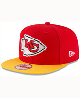 New Era Kids' Kansas City Chiefs 2016 Sideline 9FIFTY Original Fit Cap
