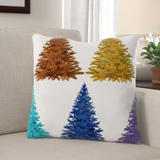 Nocona The Holiday Aisle Christmas Indoor/Outdoor Canvas Throw Pillow The Holiday Aisle