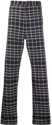 Marni Checked Loose Fit Trousers