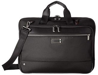 Briggs & Riley @Work Large Expandable Brief (Grey) Briefcase Bags