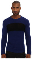 CNC Costume National Mixed Knit Crewneck Sweater