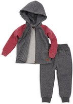 7 For All Mankind Boys' Hoodie, Tee & Joggers Set