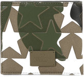 Valentino Garavani Valentino camustars wallet - men - Cotton/Calf Leather - One Size