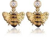 Theo Fennell Bee Drop Earrings