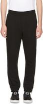 McQ by Alexander McQueen Black Zip Lounge Pants